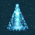 Illustration of christmas tree this is file eps format Royalty Free Stock Photography