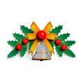 Illustration of Christmas garland Royalty Free Stock Photo