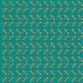 Illustration of circles in geometric pattern.