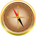 Illustration of classic compass Royalty Free Stock Images
