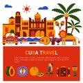 Illustration Cuba Havana
