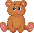 Illustration of cute baby bear cartoon Royalty Free Stock Photography