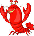 Illustration of cute lobster cartoon Royalty Free Stock Photography
