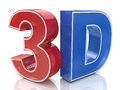 Illustration Of 3D Word Logo W...