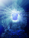 Illustration de Bouddha Image stock
