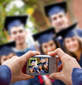 Illustration de graduation Photo stock