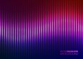Illustration de vecteur de violet music equalizer Image libre de droits