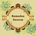Ramadan Kareem India Delhi extend circle card