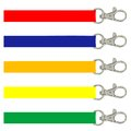 Illustration different color lanyards Stock Photography