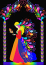 Illustration fairy tale princess Stock Photos
