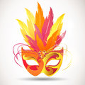 Illustration festive carnival mask Royalty Free Stock Photos