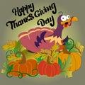Turkey for the thanksgiving dinner