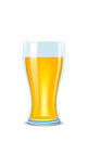 Illustration glass of beer Stock Photography