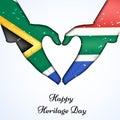 Illustration of Heritage Day Background Royalty Free Stock Photo