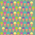Illustration Ice cream Stock Images