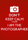 Illustration inspired old red second world war poster don t keep calm cause i photographer Stock Photo