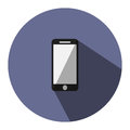 Illustration is a mobile icon. Can be used in the media.