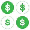 Illustration is Money cash Icon,paper currency,American one Dollar.