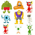 Illustration of monsters Royalty Free Stock Image