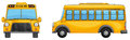 Illustration of a school bus Stock Image