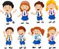 Illustration Of School Childre...