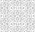 Illustration of seamless pattern with abstract curls Royalty Free Stock Photo