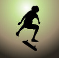 Illustration skater boy Royalty Free Stock Images