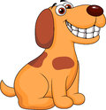 Illustration smiling dog cartoon Royalty Free Stock Photography