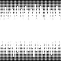 Illustration of sound waves. Vector seamless pattern