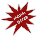 Illustration of Special offer Royalty Free Stock Image