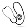 Illustration of stethoscope. Vector web icon