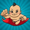 Super Baby Abstract Background Asian Royalty Free Stock Photo