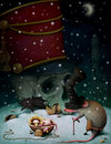 Illustration to fairy tale The Nutcracker Stock Photo