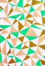Illustration of triangle wooden pattern Stock Images