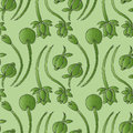 Illustration twine plant seamless pattern Royalty Free Stock Photography
