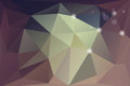 Illustration of vector abstract polygonal background