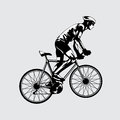 Illustration vector of bicycle