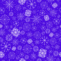 Illustration, vector pattern. image of snowflakes, winter. blue background for the Christmas cards, packaging, greetings Royalty Free Stock Photo
