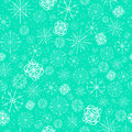 Illustration, vector pattern. image of snowflakes, winter. mint blue background for the Christmas cards, packaging Royalty Free Stock Photo