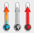 Illustrations of global warming