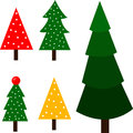 Illustrator of christmas tree season Stock Photography