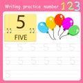 Illustrator Write practice number 5