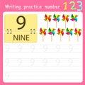 Illustrator Write practice number 9
