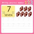 Illustrator Write practice number 7