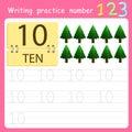 Illustrator Write practice number 10