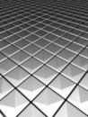Illution silver aluminium pattern Stock Photo