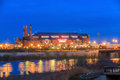 ILucas Oil Stadium. Royalty Free Stock Photo
