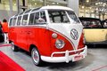 Ilya sorokin s oldtimer gallery moscow russia september german volkswagen transporter van presented at the annual motor show on Royalty Free Stock Photos