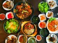 Image​ of​ korea​n​ foods,​ food concept​. Royalty Free Stock Photo