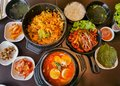 Image​ of​ korea​n​ foods,​ food concept Royalty Free Stock Photo